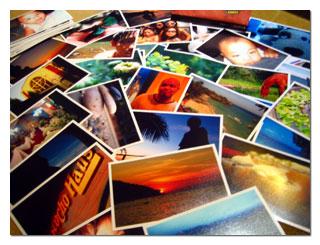 digital photo print:
